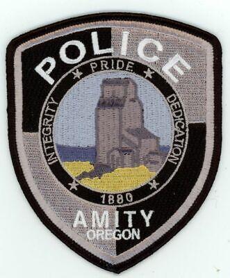 ROCKAWAY BEACH POLICE OREGON OR NICE COLORFUL PATCH SHERIFF