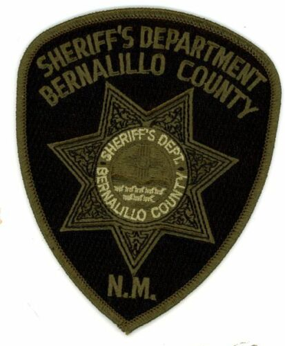 BERNALILLO COUNTY SHERIFF NEW MEXICO NM SUBDUED SWAT NEW PATCH POLICE