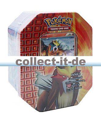 Pokemon Heartgold Soulsilver 'Shiny' Tin-Box - Entei