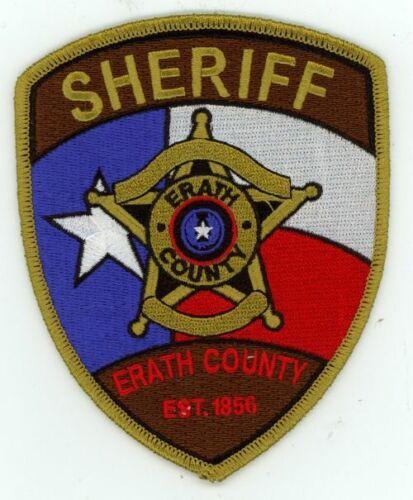 TEXAS TX ERATH COUNTY SHERIFF NEW PATCH POLICE