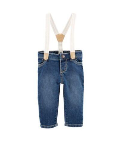 oshkosh bgosh baby girl denim jean overalls