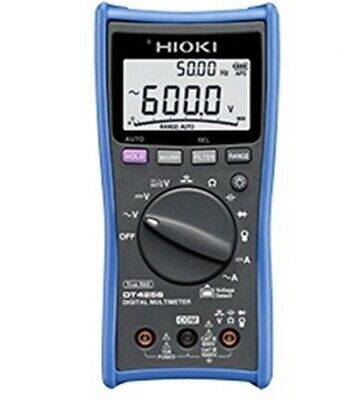 Hioki Digital Multimeter Dt4256-20 Dt4256 With Fuse-protected Terminals Ideal