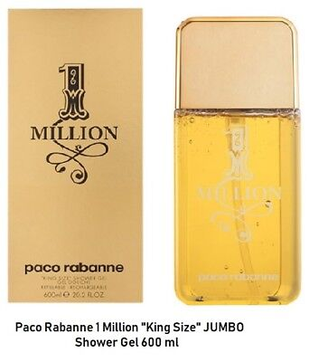 Paco Rabanne One Million 20.3 oz / 600ml Shower Gel, SEALED, used for sale  Shipping to India