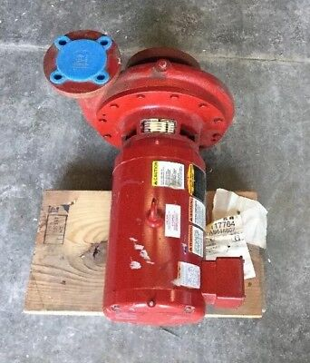 Bell And Gossett 1531 Bf 82bc Pump 163gpm Ft55 175 Max Wp 5hp Baldor Motor