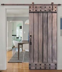 Barn door of your choice and material and sytle Cambridge Kitchener Area image 4