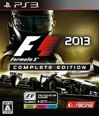 F1 2013 PS3 Codemasters Sony Playstation 3 From Japan comprar usado  Enviando para Brazil