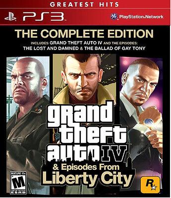 Rockstar Grand Theft Auto Iv 4 (the Complete Edition)(son...