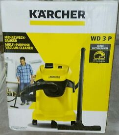 NEW Karcher WD3 P Tough Vac, Wet and Dry Vaccum Cleaner