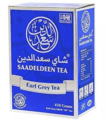 450g Tea - 100% Pure Earl Grey Tea | Natural, Loose Leaf, Black Tea | 450g (15.8oz) | A+++