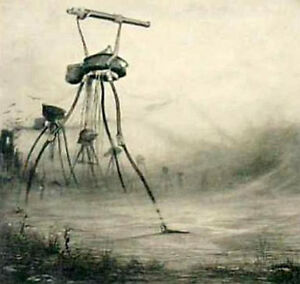 The War of The Worlds H G Wells Book & illustrations Henrique Alvim Correa ON CD