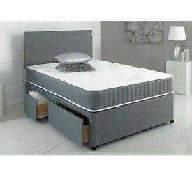 Double divan bed