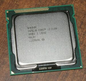 Intel Core i3-2100 & i3-2120 3.1 / 3.3GHz 3MB Socket 1155