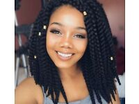 Crochet hairstyle