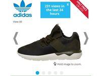 Adidas size 7 tubular men's