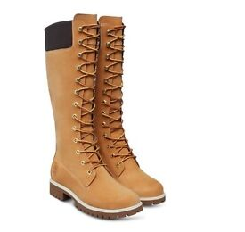 Women's brand new Timberland high boots