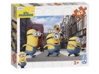 Brand New Minions jigsaw.