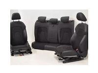 Audi a4 s4 b8 suede half leather heated seats