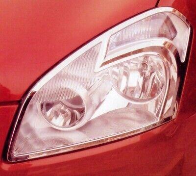 Zubehör für Nissan Qashqai Chromrahmen Scheinwerfer Frontscheinwerfer Tuning