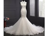 wedding dress , brand new