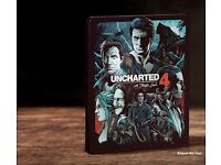 Uncharted 4 Brand New Sealed Rare Steelbook Edition PS4 + Artbook