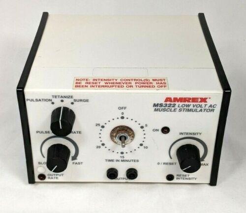 Amrex MS322 Low Volt AC Muscle Stimulator Therapy Unit
