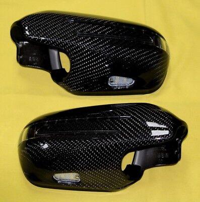Spiegelgehäuse Carbon mit LED Blinker für Mercedes C219 CLS ab Bj.2008 nach MOPF