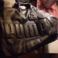 Sac de transport en cuir de très bonne qualité Puma,