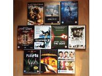 Job lot 10 DVDs horror/comedy/thriller (bundle #2)