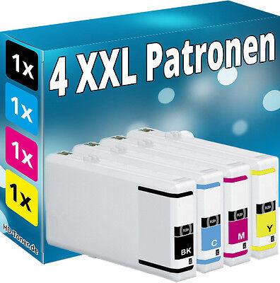 4x PATRONEN komp.für EPSON Workforce Pro WP4025DW WP4535DWF WP4545DTWF WP4595DNF online kaufen