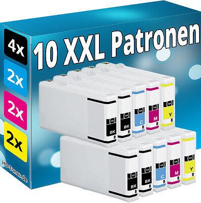 10 PATRONEN komp.für EPSON Workforce Pro WP4025DW WP4535DWF WP4545DTWF WP4595DNF online kaufen