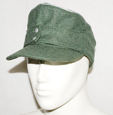 WWII GERMAN WH OFFICER M43 PANZER WOOL FIELD CAP XL -31734, used for sale  China