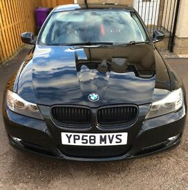 BMW 320d ES 2008 (58) 177bhp 64.5k miles, just serviced and alloys refurbed