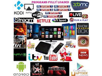 AUTO UPDATE, READY TO PLUG IN & PLAY KODI ANDROID TV BOXES SUPER FAST Streaming FREE TV