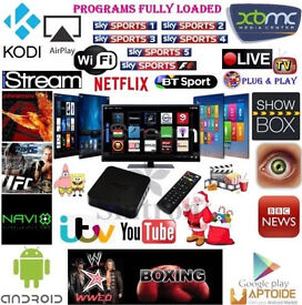 AUTO UPDATE, READY TO PLUG IN & PLAY KODI ANDROID TV BOXES Android 6,0 SUPER FAST Streaming