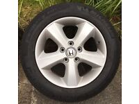 """16""""Alloy Wheels with Tyres"""