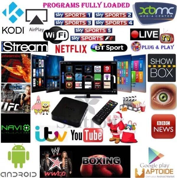 Android Smart Media Box KODI MXQ showbox etc smart tv   in Beckton, London    Gumtree