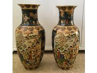 Pair Of 20th Century Chinese Decorative Vases