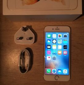 iPhone 6s 16gb gold boxed any network