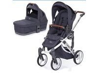 ABC Design Mamba Plus Pushchair and Carrycot - Street (Brand New)