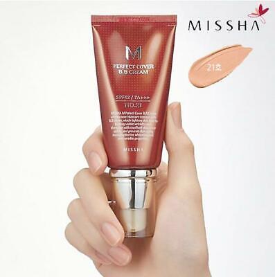Missha M Perfect Cover B.B. Cream SPF 42 PA+++ 21 Light Beig