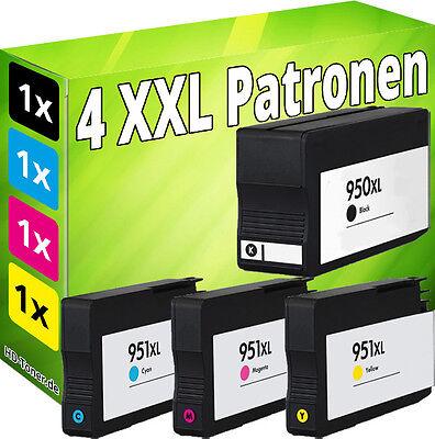 Set 4x TINTE für HP 950XL 951XL OfficeJet 251dw 276dw 8100 8600 8610 8615 8620 online kaufen