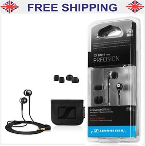 Sennheiser CX 300-II Headphone Earphones For iPhone, iPod, MP3, Mobile, CD New