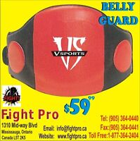 BELLY GUARDS, GREAT QUALITY, JUMBO PADDING, COME IN AND  TRY ON
