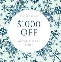 Metal & Steel - SAVE 1000 THIS MONTH