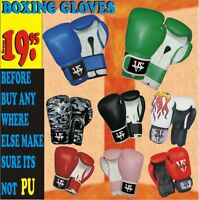 BOXING GLOVES (LEATHER LIT) SAVE 70% OFF ON MARTIAL ARTS SUPPLIE