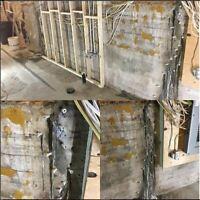 Réparation fissure fondation - Soumission par ingénieur