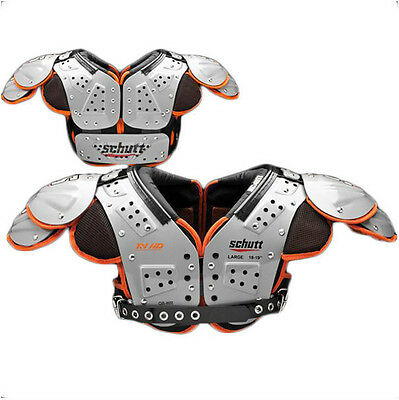 NEW Schutt Varsity XV HD Adult Varsity Football Shoulder Pads  Adult Football Shoulder Pads