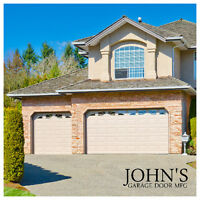 $550 tax included 8x7ft Garage doors installation not included!