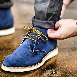 RED WING Heritage Work Chukka | Blueberry Muleskinner | Size 8.5