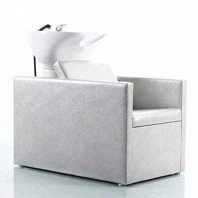 Waschsessel Friseurwaschbecken  Friseurstuhl Rückwärtswaschsessel Waschbecken